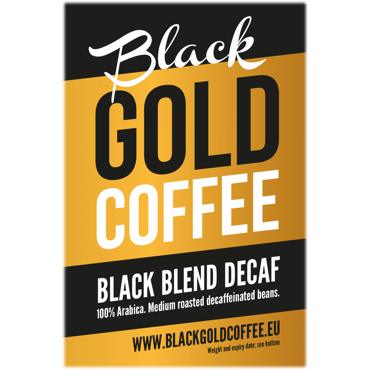 Black Gold Coffee Decaf
