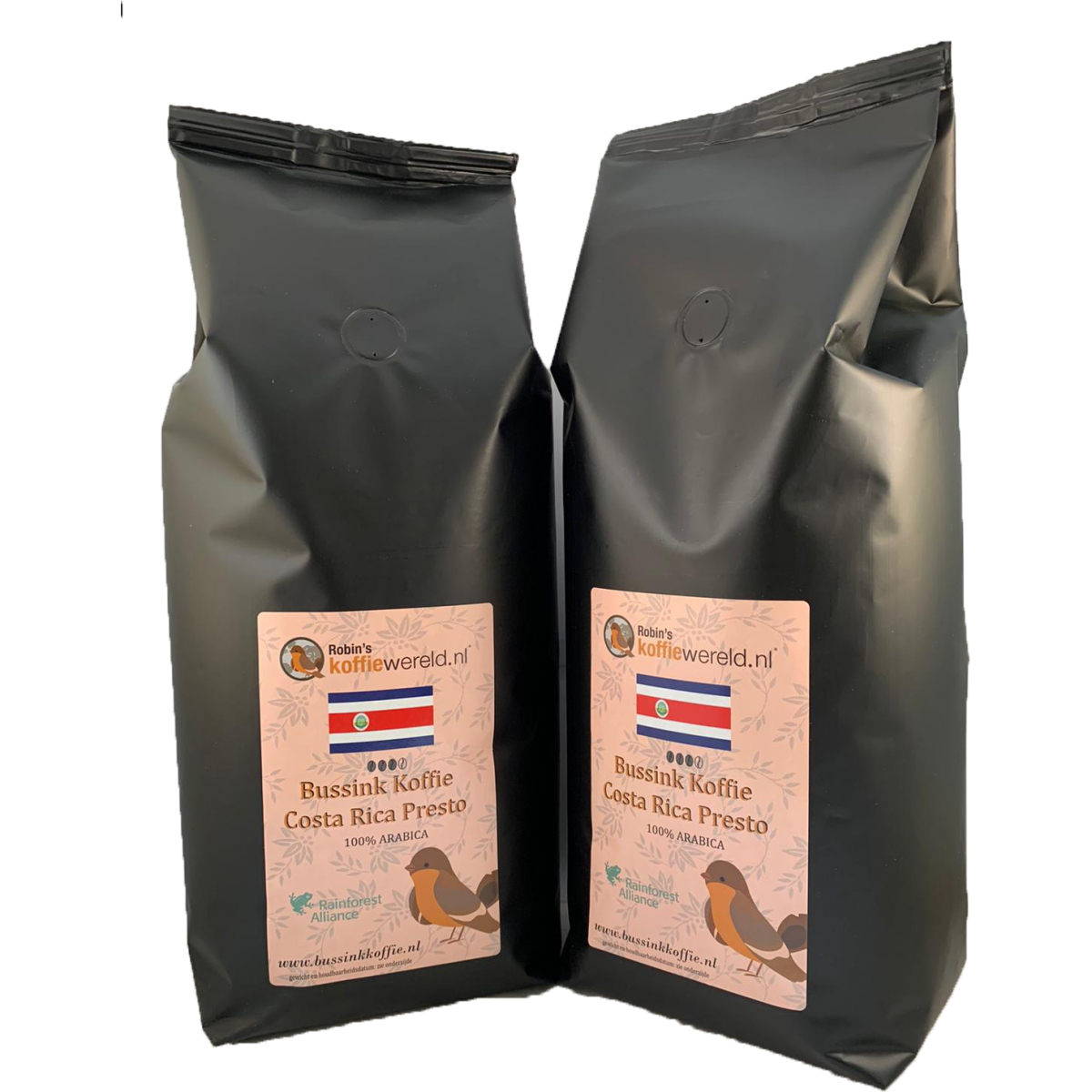 Bussink Koffie Costa Rica Presto 2 stuks 2020
